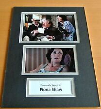 Fiona Shaw SIGNED autograph A4 Photo Mount Display Harry Potter Film & COA