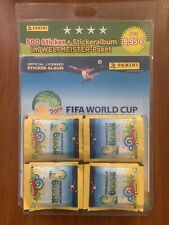 WORLD CUP 2014, Panini. STARTER PACK: EMPTY ALBUM + 100 packets (500 stickers)