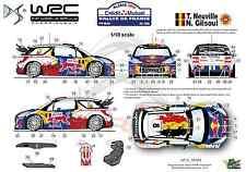 [FFSMC Productions] Decals 1/18 Citroën DS3 WRC Neuville Rallye de France 2012