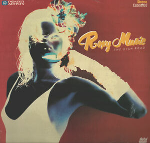 Brand New!! Roxy Music The High Road Pioneer Artists Laserdisc SEALED