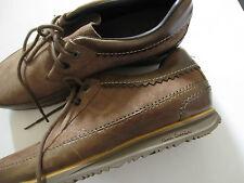 PAUL SMITH PELLE MARRONE & scarpe camoscio, misura UK 8/EU 42