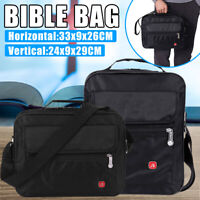 Bible Carry Bag Study Book Holy Cover Case Tote Protective Canvas Judaism Gift