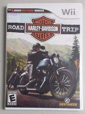 Harley-Davidson: Road Trip WII / WIIU GAME BRAND NEW & SEALED FREE SHIPPING