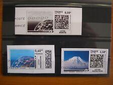 Série Montimbrenligne terre, 3 timbres