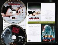MADONNA  In Bed With+Body Of Evidence JAPAN DVD MGBLG-35293 w/INSERT 2 disc set