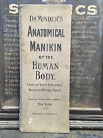 ANTIQUE DR. MINDERS ANATOMICAL MANIKIN OF THE HUMAN BODY ODDITY ANATOMICAL STUDY
