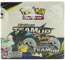 Pokemon Tcg Sun & Moon Team Up Booster Sealed Box - English