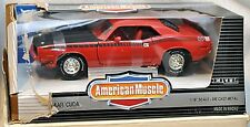 ERTL 1/18 1995 Mopar Nationals #2 1970 AAR Cuda Rally RED 7439 American Muscle