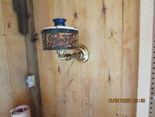 Vintage  PEPSI-COLA Tiffany Style Desk or wall Lamp N.O.S.