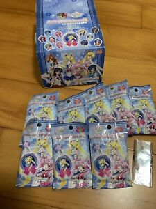 Sailor Moon Crystal Strap keychain Lot Of 9 With Box