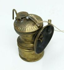 New listing Vintage Auto-Lite Brass Miner's Head Lamp