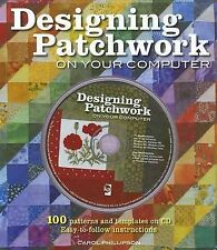 Designing Patchwork on Your Computer, Phillipson, Carol, 0896894002, Book, Good