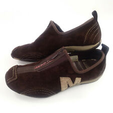 Merrell BARRADO Womens 7.5 US Chestnut Brown Leather Suede Zip Up Athletic Shoes