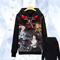 Anime RWBY Clothing Hoodie Cosplay Daily Pullover Unisex Sweatshirt Coat #DF477
