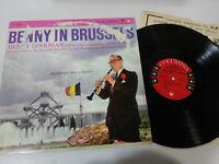 "Benny Goodman IN Brussels Clarinet 1958 LP Vinyl vinyl 12 "" G VG USA Ed Mono"
