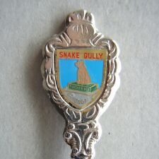 Snake Gully Dog Tucker Box Gundagai Souvenir Spoon Teaspoon (T81)