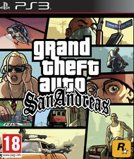 Sony Ps3 PlayStation 3 Spiel GTA San Andreas HD Grand Theft Auto
