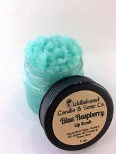 Blue Raspberry Lip Scrub| Edible Sugar Lip Scrub| Lip Polish