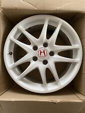 Honda Integra Type R DC5 Wheel Championship White