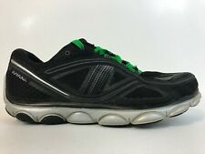 BROOKS Pure Flow Mens Running Shoe Size 9 D Black/Gray/Green