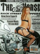 THE HORSE back street choppers TIA DUBOIS bio diesel chopper WHITE TRASH