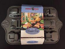 Nordic Ware CLASSIC CARS SWEET RIDES Cupcake Cake Baking Pan Heavy Cast Aluminum