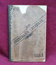 Sheridan's Veterans, 1883, Original Edition