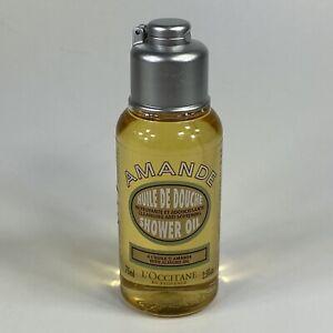 L'Occitane Amande Almond Shower Oil Travel Size 2.5 fl oz. 75 ml - NEW