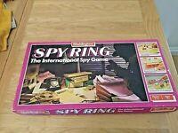 Vintage 1986 Spy Ring Waddingtons International Spy Board Game Complete
