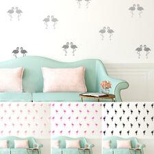 Wall Sticker Nursery Kids Home  MS225VC Pattern Pink Flamingo Set of 20