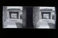 Pompei Italia Modellino Placca Da Lente Stereo Negativo