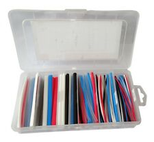Coffret boîte gaines thermorétractables pour isolation fils câbles éléctriques