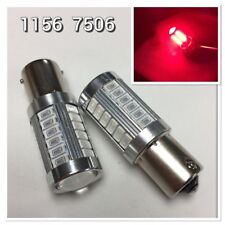 Front Signal 1156 Ba15S 33Smd 180° Led Projector Lens Red Bulb K1 For Acura Hak (Fits: Firefly)