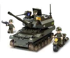 Sluban Army Armee Militär Tank Panzer Leopard MG Turm M38-B9800 Baukasten