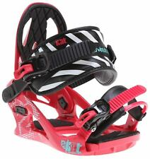 K2 KAT Snowboard Bindung Binding  Pink, Snowboardbindung Size:S (33-36)