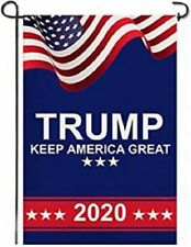 Trump 2020 Keep America Great Garden Flags- Double Sided Yard Flag 12.5x18 Inch