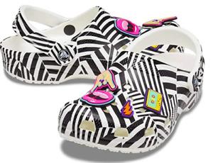 """Crocs // Classic """"90's Rock"""" Clog #206513-066 (M11) *MISSING JIBBITZ*"""