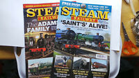 LOT STEAM RAILWAY MAGAZINE MARCH APRIL 2019 x 2 LOT No 491 492 SAINT DUKE OF GLO