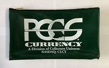 PCGS (NEW)  Zippered Money Pouch Bank Bag Security Deposit Bags