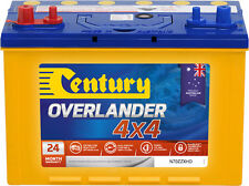 CENTURY N70ZZXHD OVERLANDER 4X4 BATTERY DUAL POST 735 CCA + 100AH 24 MTHS NATION