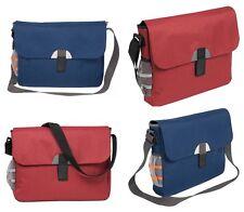 Cartella borsa porta documenti a tracolla in nylon 600D (38x30x6 cm) 2 colori