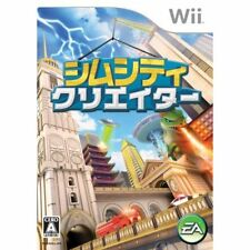 Used Wii Sim City Creator Japan Import