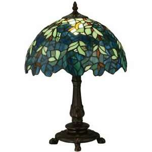 Meyda Lighting 17'H Nightfall Wisteria Accent Lamp - 124813