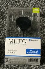 Mitec Essentials Bluetooth Universal Wireless Car Kit With Charger (a41)