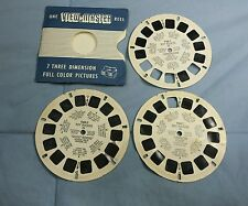 Viewmaster Reels 1956 Roy Rogers TV Show #948 A-B-C Arrowhead Gold Ghost Riders