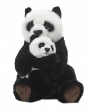WWF 16813 Panda with Baby 11in soft Stuffed Toy Plush Collection