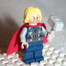 Lego THOR MINIFIGURE from Super Heroes Quinjet Aerial Battle (6869)