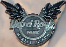 Hard Rock MYRTLE BEACH PARK 2008 Silver WINGED Logo PIN HRP - HRC Catalog #53316