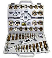 45 pc Tap and Die Set MM Tungsten Steel Titanium tools
