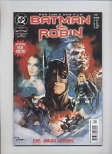 BATMAN & ROBIN SONDERHEFT COMIC ZUM FILM + POSTER - SIENKIEWICZ - DINO 1997 -TOP
